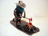 Cowboy Collectable at branding time., $59