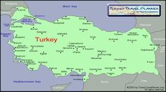 nice Map of turkey