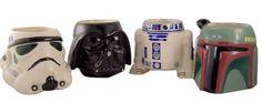Star Wars Collectible Mug Set of 4 - http://geekarmory.com/star-wars-collectible-mug-set-of-4/