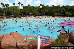 Cooling off at Blizzard Beach
