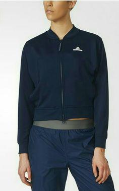 adidas by Stella McCartney Barricade Jacket - Blue 8d3a47061a9ec