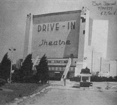 Ridge Road Drive-In, 1977.  [Photo published by the Sun Journal.  Submitted by Jeff Cook to Drive-ins.com]