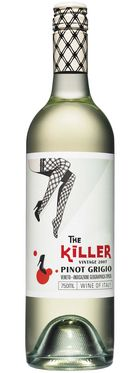 This is close to your leggy wine pin don't you think #packaginggirl 99 The Killer Pinot Grigio PD