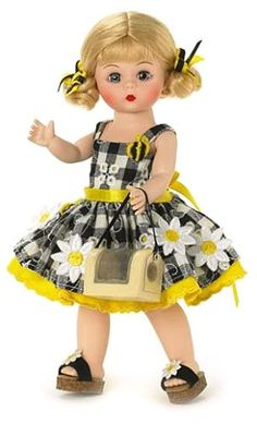 Madame Alexander 8 Inch Americana Collection Doll – Daisies And Bees