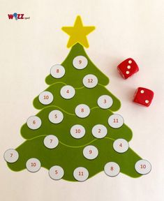 Christmas Time, Merry Christmas, Christmas Ornaments, Advent, Preschool, December, Diy Projects, Winter, Holiday Decor