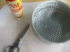 Preparing a cake pan for baking | Joe Pastry