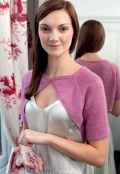 Bolero & Shrug Debbie Bliss Free Knitting Patterns. Yarn: Debbie Bliss Andes Free Patterns