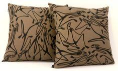 Cushion Cover - Mimi Spirits design by Gabriel Maralngurra Spear Thrower, Aboriginal People, Dynamic Design, Rock Art, The Rock, Cushion Covers, Gabriel, Screen Printing, Survival