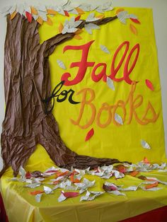 Fall for Books by gleestormont, via Flickr                                                                                                            Fall for Books             by        gleestormont      on        Flickr