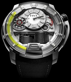 HYT H1 Watch ($45,000) The most remarkable watch I've ever seen!  AMAZING!