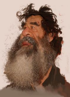 Sadam Hussein // by Dominic Philibert - did he keep peace in that region or did he deserve the witch hunt?