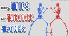 Physical activity, such as weight-bearing exercises, help build stronger bones by stimulating cells responsible for the synthesis and mineralization of bone. http://fitness.mercola.com/sites/fitness/archive/2014/06/20/physical-activity-bone-health.aspx