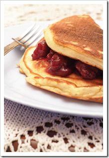Przy Dużym Stole: Łatwe naleśniki biszkoptowe, bez ubijania Breakfast Recipes, Pancakes, Sweet, Pierogi, Mille Crepe, Sugar Sugar, Food, Crepes, Kitchens