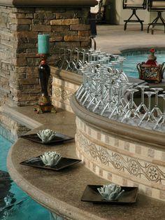 Swim up bar on pinterest lazy river pool pool bar and lagoon pool