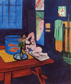 Henri Matisse French, Studio with Goldfish (L'Atelier aux poissons rouges) May-end of September 1912 Oil on canvas 46 x 39 in. Matisse / Artists Rights Society (ARS), New York Image © 2013 The Barnes Foundation Henri Matisse, Matisse Kunst, Matisse Art, Pablo Picasso, Mondrian, Matisse Pinturas, Matisse Paintings, Barnes Foundation, Post Impressionism