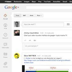 Une nouvelle version de Google+ dans les bacs ! De gros changements…