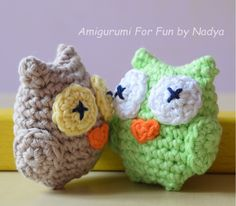 Amigurumi For Fun by Nadya: Quick and Easy Owl Ball