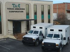 Armored Bank Trucks | About Armored Cash-in-Transit Trucks and Bulletproof Bullion Vans