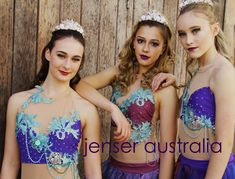 "Mermaid Costumes for a Ballet Production of ""Peter Pan Mermaid Costumes, Dance Costumes, Dance Wear, Peter Pan, Lily Pulitzer, Ballet, Dresses, Gowns, Dance Clothing"