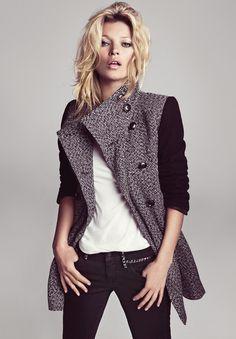 Kate Moss for Mango Winter 2012