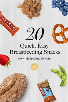 20 Quick and Healthy Breastfeeding Snacks - 20 Quick & Easy Breastfeeding Snack. - 20 Quick and Healthy Breastfeeding Snacks – 20 Quick & Easy Breastfeeding Snack… – 20 Quick - Quick Healthy Snacks, Easy Snacks, Easy Meals, Healthy Recipes, Snacks Kids, Stay Healthy, Healthy Food, Breastfeeding Snacks, Breastfeeding Tattoo