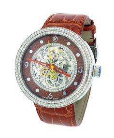 Jacob & Co. Valentin Yudashkin Skeleton Swiss Auto 48MM Diamond Watch WVY-044 #Yudashkin #SkeletonWatches