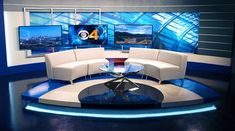 KCNC - Denver, CO - News Sets Set Design - 4: