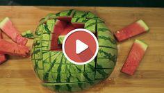 10 Best Melone Schneiden Images In 2018 Lebensmittelkunst