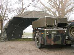 Huur een keukentent - www.rent-an-army-tent.nl - legertenten verhuur