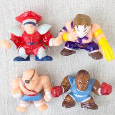 Set of 4 Street Fighter 2 Mini Figure VEGA SAGAT BISON BARLOG Capcom JAPAN GAME