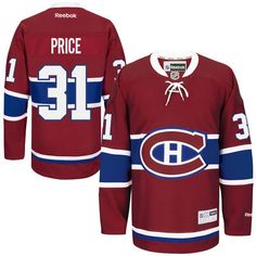 Carey Price Montreal Canadiens Men s Home Premier Jersey - Red 2721af41e