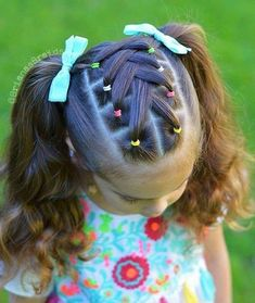 Hairstyle 、Braided Hairstyle、Children、Kids、For School、Little Girls、Children's Hairstyles、For Long Hair、Cute Child、Child Photography Lil Girl Hairstyles, Girls Hairdos, Cute Hairstyles For Kids, Kids Braided Hairstyles, Female Hairstyles, Hairstyles Videos, Hairstyles 2016, Girl Haircuts, Childrens Hairstyles