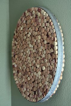 Cork art statement piece