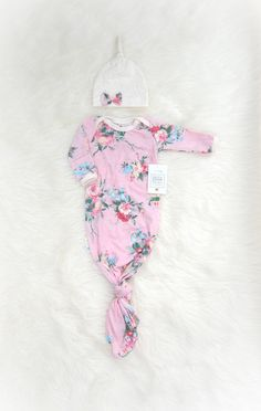 Rose Bouquet Newborn Take Home Outfit Baby by SnugAsaBugClothes
