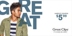 Tolle Clips Gutscheine - New Site Great Clips Haircut, Great Haircuts, Haircut Coupons, Great Clips Coupons, Free Haircut, E Clips, Free Printable Coupons, Online Checks, Latest Hairstyles