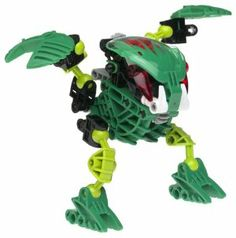Lego Bionicle Bohrok Lehvak (GREEN) #8564 by LEGO. $49.99. Amazon.com                The Bohrok, a race consisting of six insectlike species that use  elemental powers, add to the mythological story of the Bionicles. The Lehvak are  the Air Bohrok, who secrete acid to clear anything out of their pathway. While  these clever beings can fight alone, they prefer to work in small groups,  attacking and leaving quickly. This 40-piece Bionicle kit uses a system of  ball-and-s...