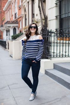 The Cold Shoulder Sweater For Spring