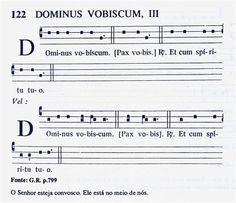 Partituras e Vídeos de Canto Gregoriano 27