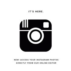 New! Connect to your Instagram feed directly from the Artifact Uprising online editor!  Hello, Instagram #photobook