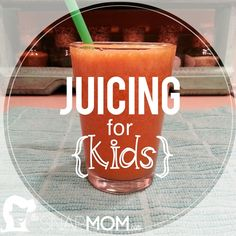 Juicing For Kids! Looking for a way to increase your kids intake of fruit and veg? Here you are!