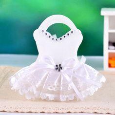 36 Baby Girl Dress Favors/DIY Favors for Children of Wedding #BridalShower #BabyGirlDress