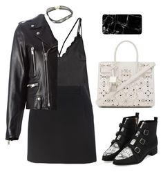 """""""Sans titre #1346"""" by frenchystyle ❤ liked on Polyvore featuring Protagonist and Yves Saint Laurent"""
