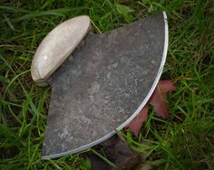 Traditional Alaskan Ulu Knife: used for everything from skinning animals to chopping foods