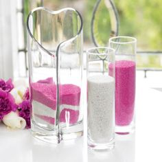 Michaels.com Wedding Department: Celebrate It™ Heart Unity Sand Set Celebrate your blessed union with a colorful unity sand ceremony. It's an experience you'll never forget, and the vase makes for a perfect wedding keepsake.