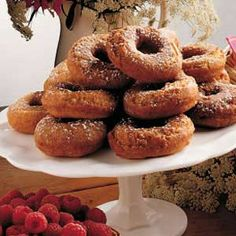 cider donuts from Taste of Home