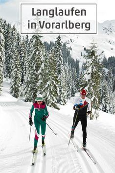 Über Loipen gleiten in Vorarlberg - eine Übersicht über Loipen, Sportparks, Loipenpläne und Biathlonangebote. #langlaufen #visitvorarlberg #myvorarlberg Travel Ideas, Wonderland, Mountains, Outdoor, Long Distance, Biathlon, Enjoy The Silence, Winter Vacations, Outdoors