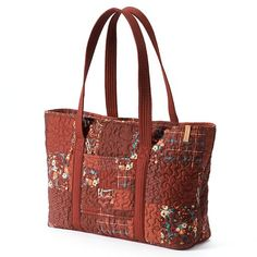 Donna Sharp Handbags At Kohl S This Large Quilted Tote Features A Cotton Construction And Patchwork Design Our Full Line Of