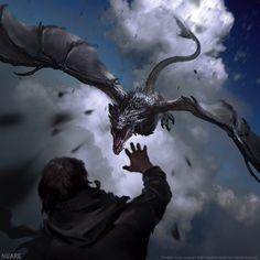 ArtStation - Dragons, Nuare Studio