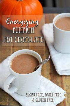 Energizing Pumpkin Hot Chocolate