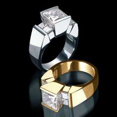 Ventana Quad Engagement Ring | John Atencio